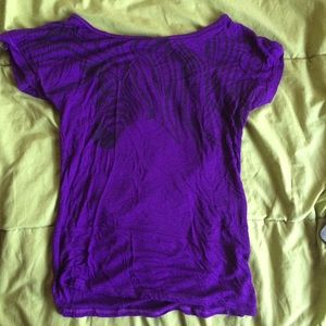 Purple t- shirt