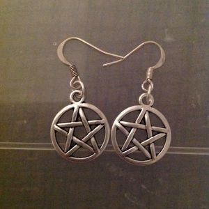 Pentagram Earrings🔴SOLD🔴