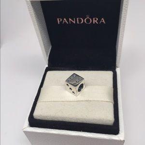 028068672 Pandora Dice Charm