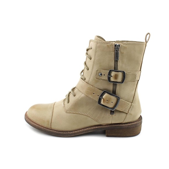 58% off Lucky Brand Boots - New real leather lucky brand combat