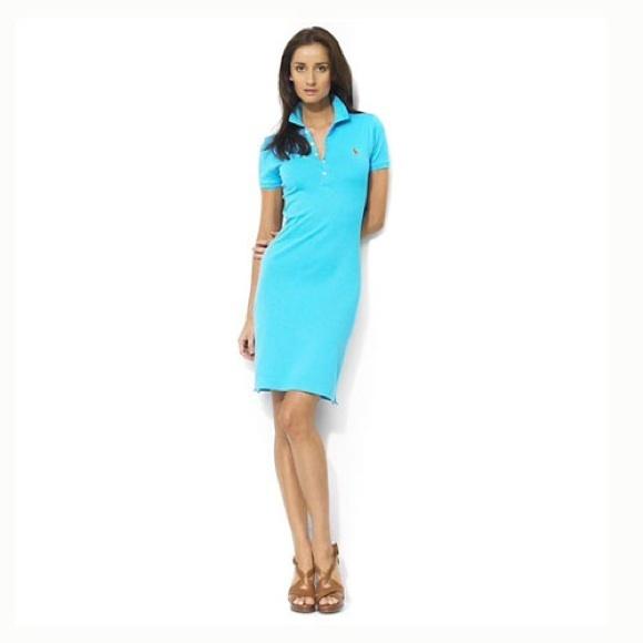ralph lauren small light blue polo dress never worn. Black Bedroom Furniture Sets. Home Design Ideas