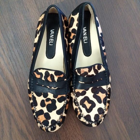 e1103776e98e Vaneli Shoes | Animal Print Pony Hair Loafers | Poshmark
