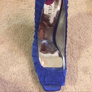 Guess Peep Toe Heels, Size 8.5