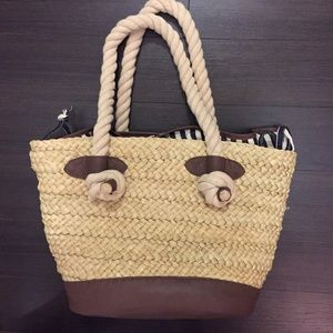 Zara Handbags - Adorable Beach/weekend Bag