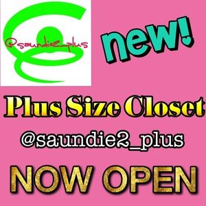 Other - MY NEW PLUS SIZE CLOSET IS NOW OPEN!