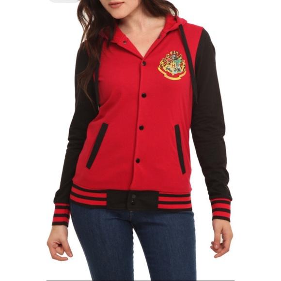 df0a3b663863 Hot Topic Sweaters - Harry Potter Hogwarts Varsity Sweatshirt