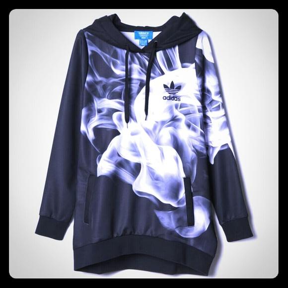 adidas white smoke hoodie