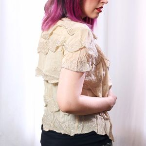 Urban Outfitters Jackets & Coats - HALF OFF SALE | Embroidered Chiffon Jacket