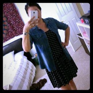 BRANDY MELVILLE polka-dot backless dress