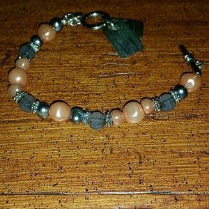 Jewelry - Beautiful Bible Verse Beaded Bracelet Shell pearl