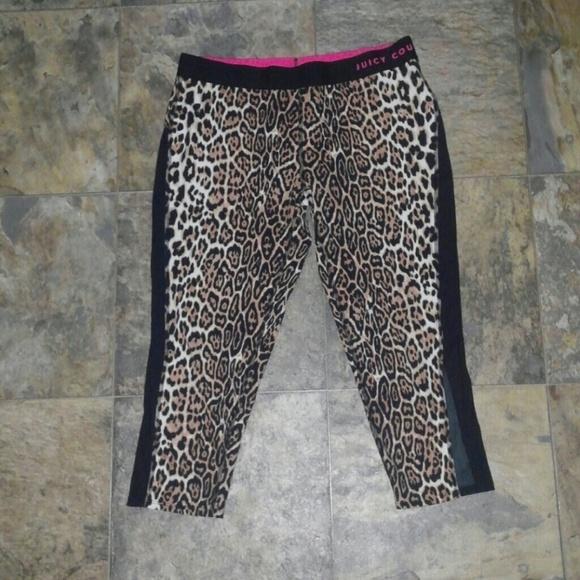 1ea831cd5cdb3 Juicy Couture Pants - Juicy Couture Sport Leopard Leggings Med