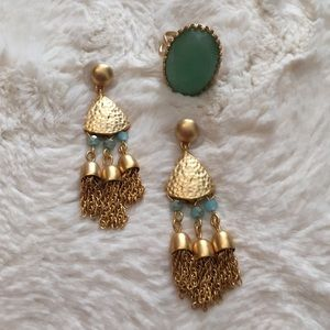 Jewelry - Spartina 449 Earrings & Ring Set
