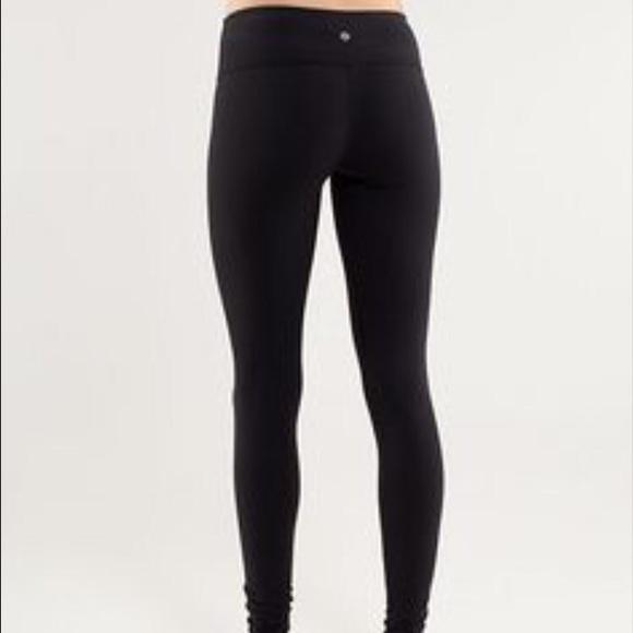eaa7aa59c1 lululemon athletica Pants | Long Black Lululemon Leggings | Poshmark