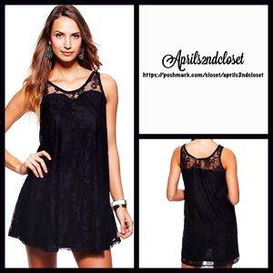 Kersh Dresses & Skirts - Black Dress Lace Party Mini Slip Tank LBD