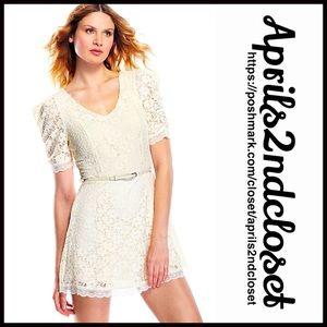 Esley Dresses & Skirts - ❗️1-HOUR SALE❗️DRESS Eyelet Lace A Line Summer