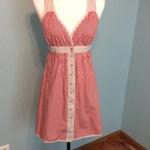 Go International Dresses & Skirts - Red striped dress