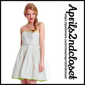Minuet Dresses & Skirts - ❗️1-HOUR SALE❗️DRESS White Party Strapless Dress