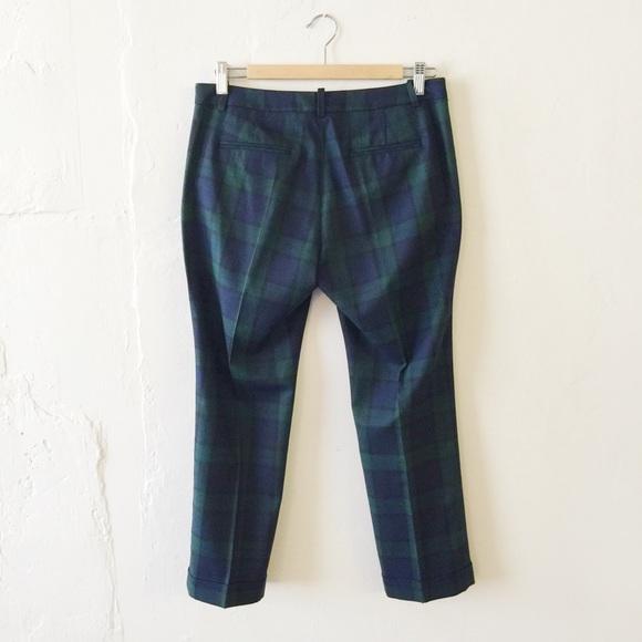 Zara - Zara Tartan Plaid Cropped Trouser Pants from Katharine's ...