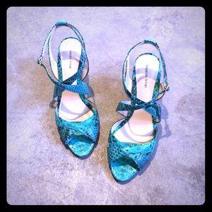 Alexandre Birman Shoes - BRAND NEW Python Wedges