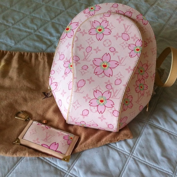 cd427239d3db Handbags - Louis Vuitton Cherry blossom backpack