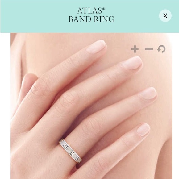 757a3ac66 Tiffany & Co. Jewelry   Tiffany Co Atlas Ring Narrow   Poshmark