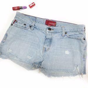 Hollister Denim - Hollister cutoff shorts