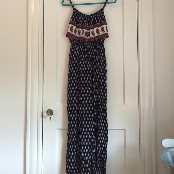 b807d7fab0d6 American Eagle Outfitters Dresses & Skirts - AEO ruffled boho maxi dress  NWOT