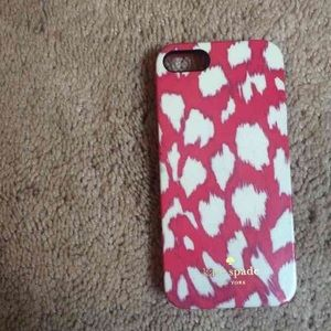 Kate spade iPhone 5/5s case.