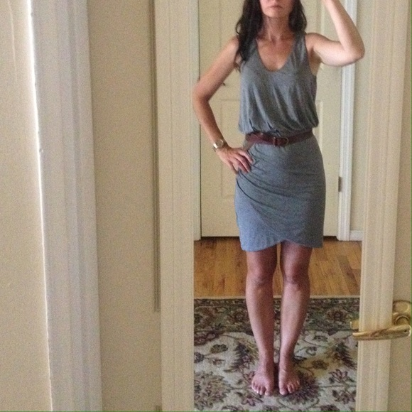 Ruched jersey long dress banana republic