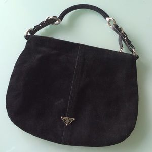 Black Prada hobo on Poshmark