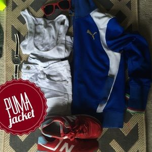Puma Jackets & Blazers - Super cool puma jacket. Hard for me to part with.