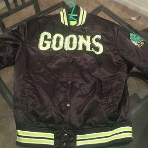 Very rare gold goons starter jacket