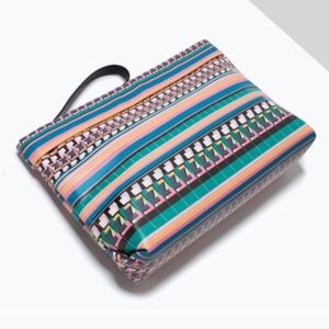Zara Clutches & Wallets - New Zara Multicolor Aztec Clutch