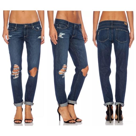 e10fb4713cb97 PAIGE Jeans | Jimmy Jimmy Skinny Distressed Boyfriend | Poshmark