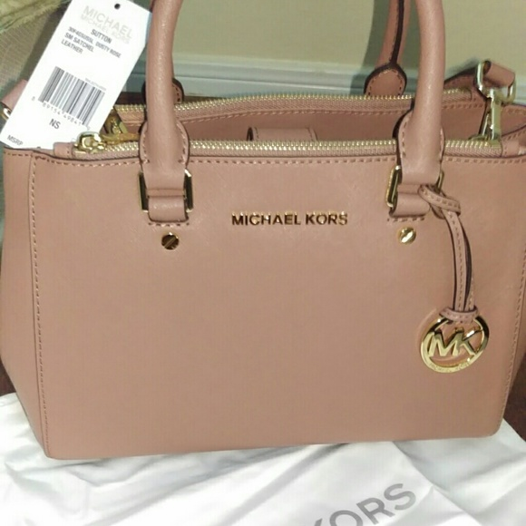 26dc42f6c5 Michael michael kors dusty rose sutton