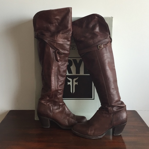 99eadeb0a33 Frye Shoes - Frye Sarah Otk over the knee boots