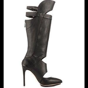 BCBG Max Azria ADORED Stiletto BOOT BLACK Sz 6.5