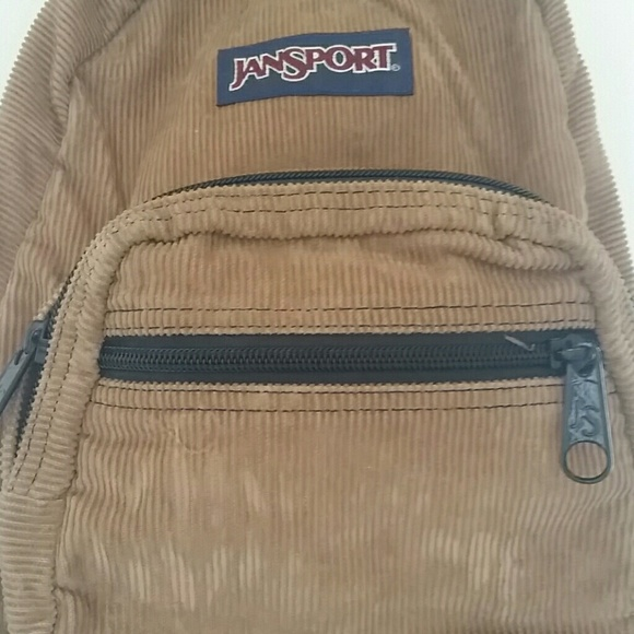 25% off Jansport Handbags - Jansport Mini Corduroy Backpack from . f668ceec3f39f