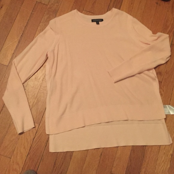 79% off Banana Republic Sweaters - Pink Banana Republic Pima ...