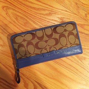 Coach Periwinkle Large Wallet