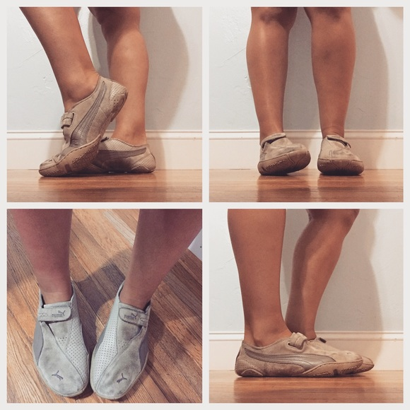 c062e4d368 Nude Puma Sneakers. M_55d928a8afcd0e25d3016a8a