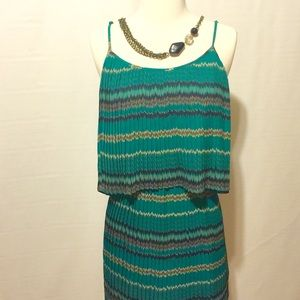 Parker Dresses & Skirts - Parker Green Perfectly Pleated Dress