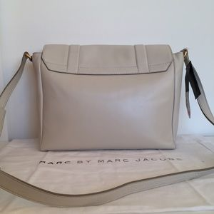 Marc by Marc Jacobs Bags - MARC JACOBS® messenger bag 'tapioca' cow leather