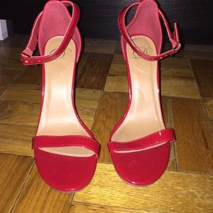 Charlotte Russe Shoes - Single sole red pumps