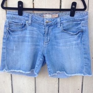 Paige soft denim shorts