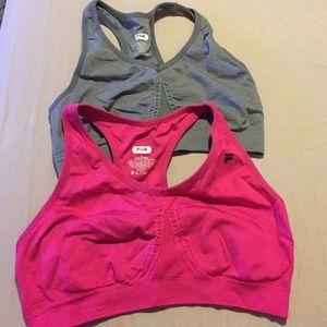 Fila Tops - 👆🏼✨✌🏼️ two brand new FILA sport bras