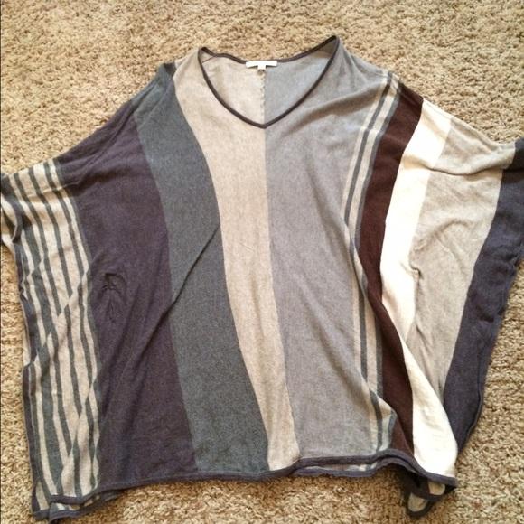 77% off CAbi Sweaters - CAbi poncho from Bonni's closet on Poshmark