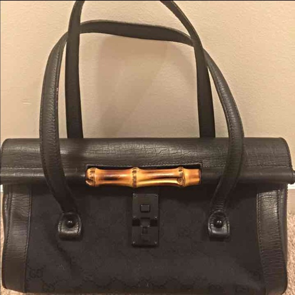 f6a135d30 Gucci Bags | Sold Authentic Bamboo Bullet Bag | Poshmark