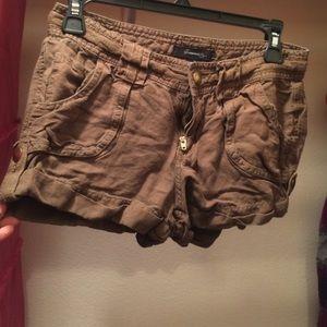 Olive green Forever 21 shorts