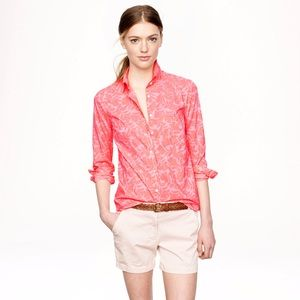 J. Crew Boy Shirt in Tropical Floral